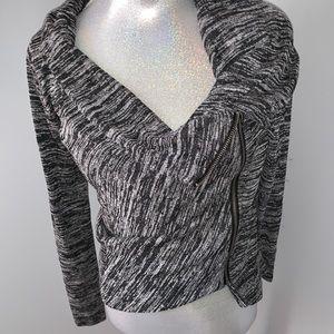 Hollister Sweater / Cardigan with Zipper